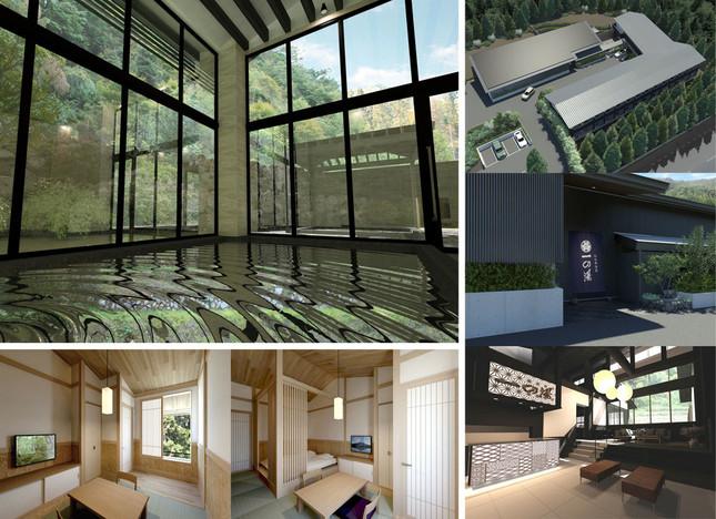7月15日、箱根町仙石原にオープンする新たな旅館「ススキの原一の湯」