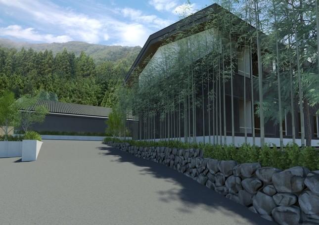 広がる自然に囲まれた温泉旅館