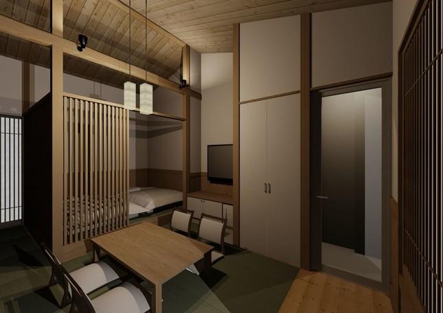 客室数は38室、全室露天風呂付き