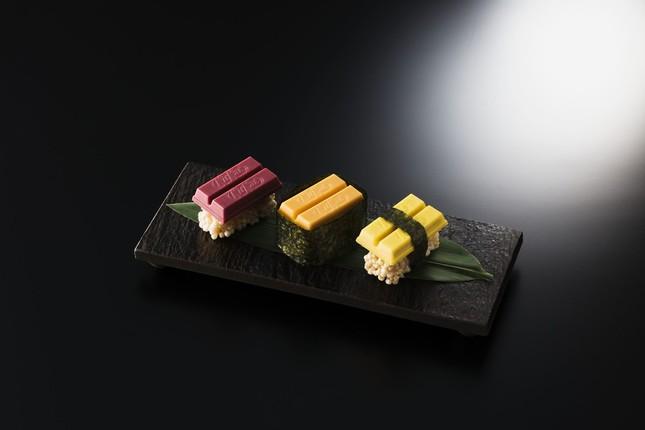 世界初の「寿司キットカット」