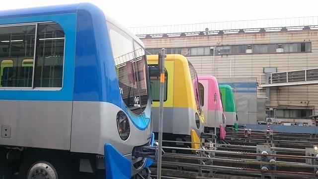 大阪市交通局ニュートラムの新型車両200系