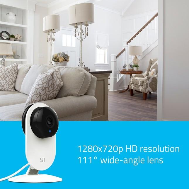 最大4倍まで拡大可能な111度広角レンズを搭載