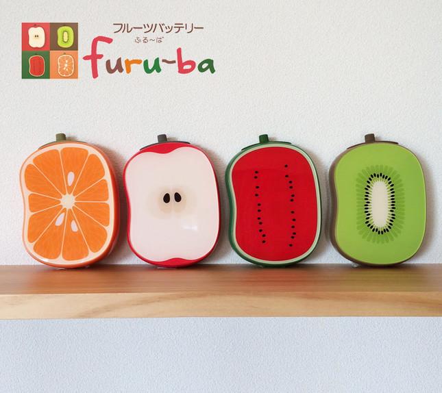 モバイルバッテリー「フルーバfuru-baモバイルバッテリー4000」