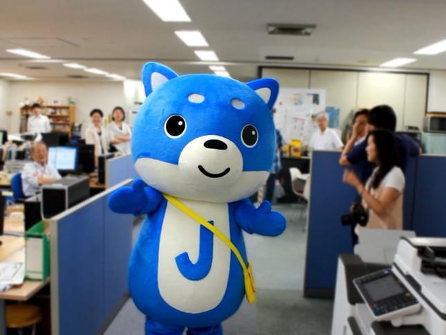 J-CASTイメージキャラクター「カス丸」