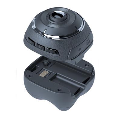 オプションのバッテリーに付け替えればアクションカメラに