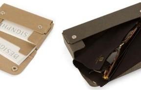 軽くて丈夫な特殊紙「パスコ」製カードケースとメガネケース デザインフィル