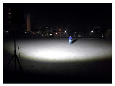 夜間での練習環境をバックアップ
