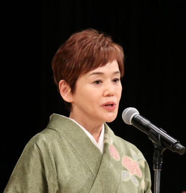 大竹しのぶさんが主演女優賞を受賞した(2017年2月8日撮影)