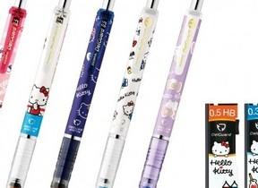 ハローキティとコラボしたシャープペンを発売 ゼブラ