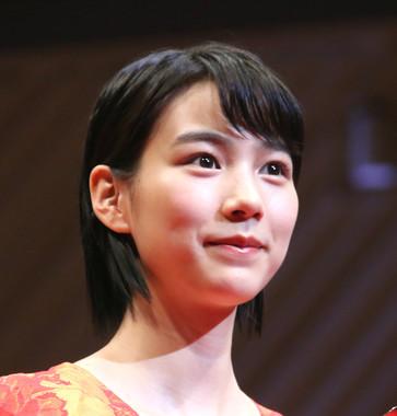 女優・のんさん(2017年2月16日撮影)