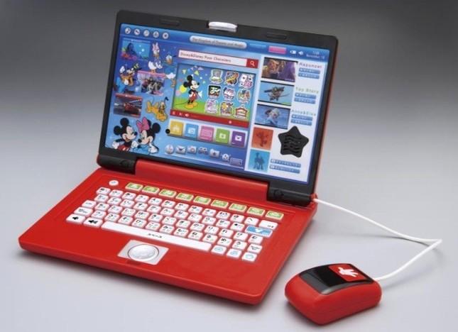 パソコン操作に親しみながらミッキーたちと楽しく学習