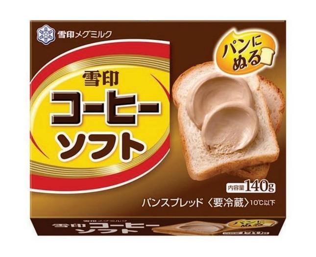 いろいろなパンで手軽に「雪印コーヒー」風味を