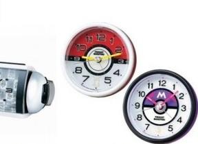 「ポケモン」の定番アイテムが目ざまし時計に セイコークロック
