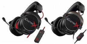 「Sound BlasterX」ゲーミングヘッドセット「H7 Tournament Edition」