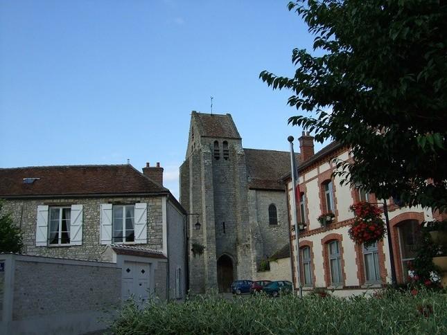 ディーリアスが人生の後半に住んだグレ・シュル・ロワンの風景