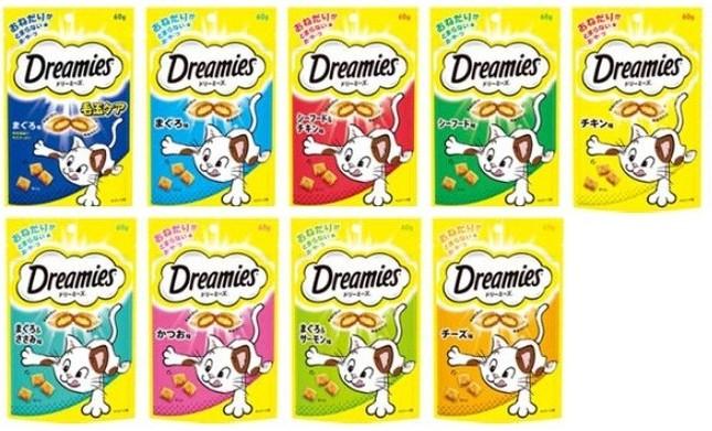 「ドリーミーズ」全9種類