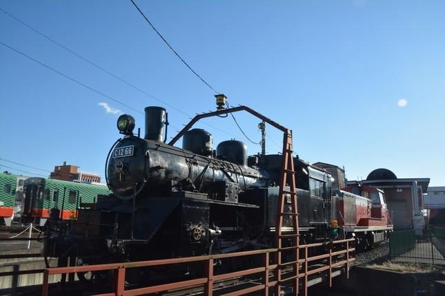 真岡鐵道C12型蒸気機関車