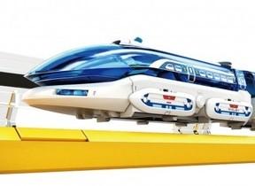 実際に浮いて走る「リニアモーターエクスプレス」電子工作キット