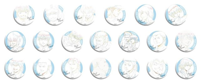 「原画トレーディング缶バッジコレクション(20種)」500円