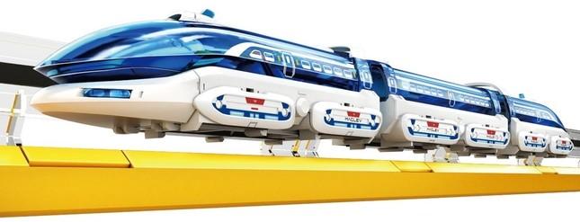 電気と磁石の力で浮いて走る「リニアモーターエクスプレス MR-9106」