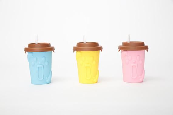 「もみっとシェイクン」の容器はブルー・イエロー・ピンクの3色展開(C)T-ARTS