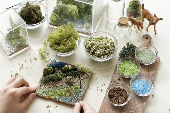 ガラスの容器に植物や苔を飾る「テラリウム」は、おしゃれなインテリアとして人気を集めている