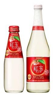 以国产红玉苹果为原料制造出来的气泡酒