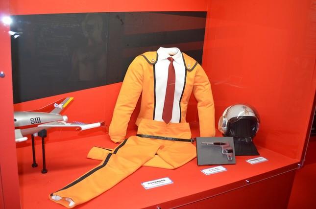 「ウルトラマン」で科学特捜隊が着用した衣装
