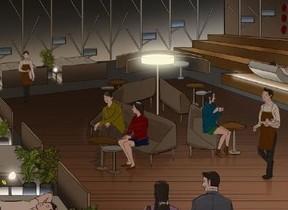カフェインレスコーヒー提供...ネスカフェ「睡眠の日」にフランスベッドとコラボカフェ