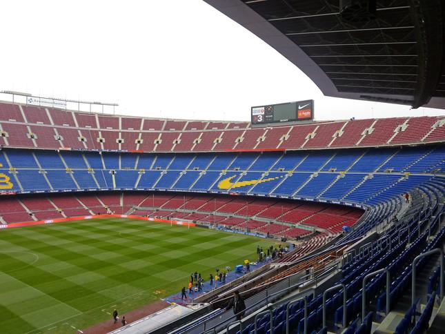 試合が行われたバルセロナのホームグラウンド「カンプ・ノウ」(WikimediaCommonsより)