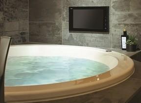 16V型デジタルハイビジョン浴室テレビ 地デジ&BS/110度CSチューナー内蔵