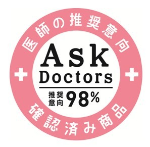 「AskDoctors 医師の推奨意向確認済商品」 マーク