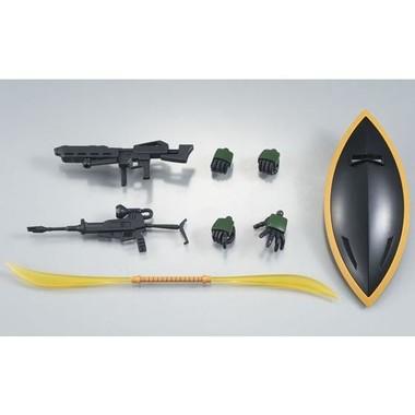 ビーム・ナギナタやシールドなどの武装パーツが豊富に付属