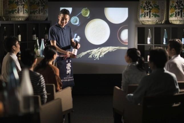 会津の歴史や文化、自然、古くから会津で親しまれている日本酒について学ぶ