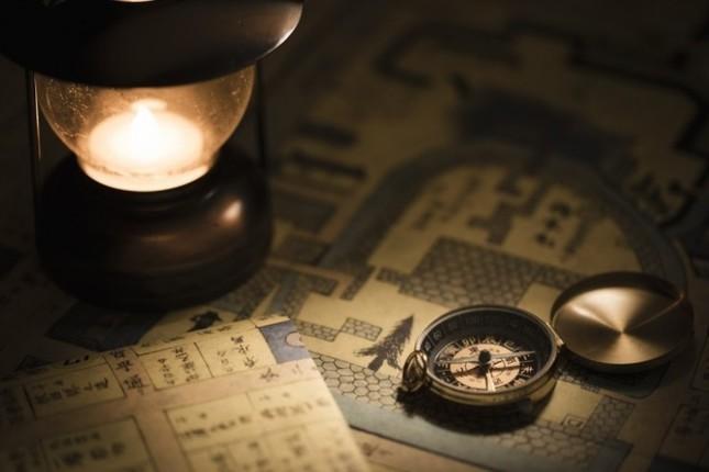 江戸時代末期の会津の古地図をみながら城下町を散策するプログラム