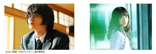 主演の神木隆之介さん(左)と映画後編の主題歌を担当する藤原さくらさん(右)