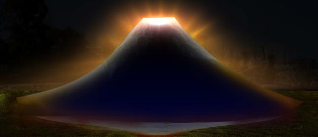 Scene1:富士山の誕生