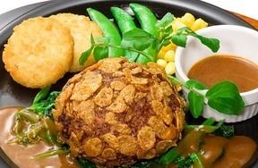 ガスト 卵と肉が「とろうま」なハンバーグ他 7種の新ハンバーグ