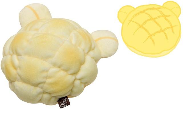 リラックマ型メロンパン