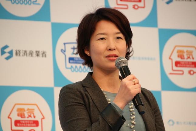 電力・ガス取引監視等委員会の箕輪恵美子委員
