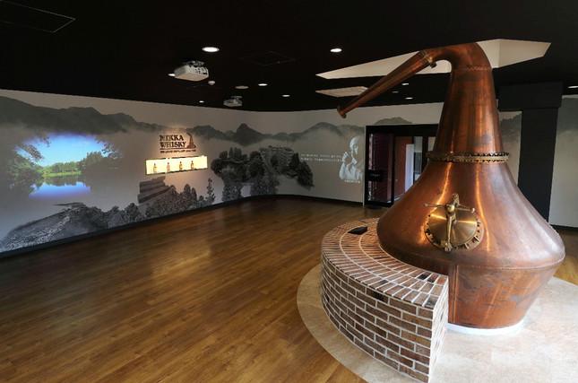 一甲威士忌的宮城峡蒸溜所开设了