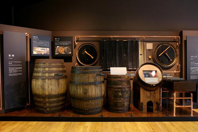 常設展示「樽の効用」