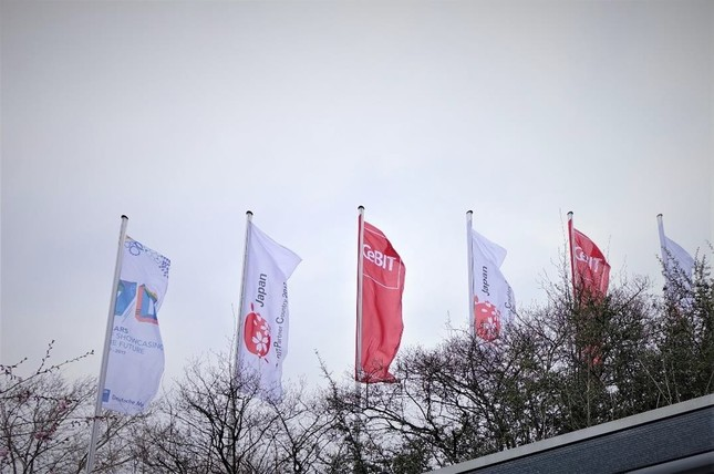 「CeBIT 2017」はドイツ・ハノーバーで開催された