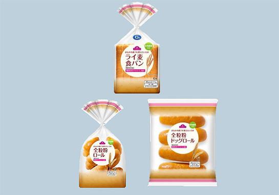 トップバリュが発売した機能性表示食品のパン3種類