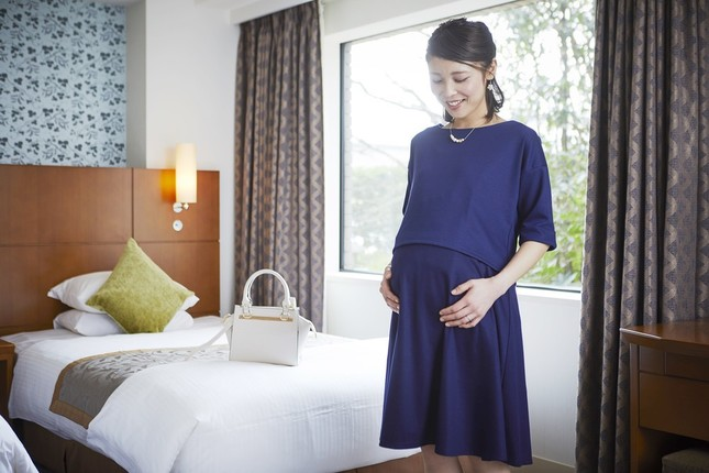 マタニティウェア2着を試せる宿泊プラン