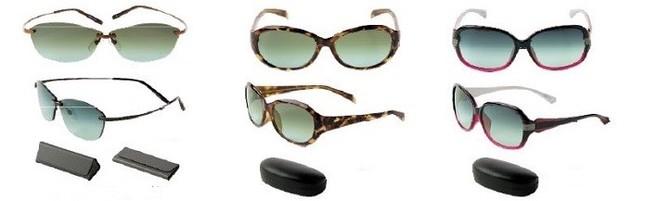 3種の光線カット!オシャレで機能的なサングラス!