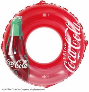 目立ち度No.1! コカ・コーラやスプライトの浮き輪