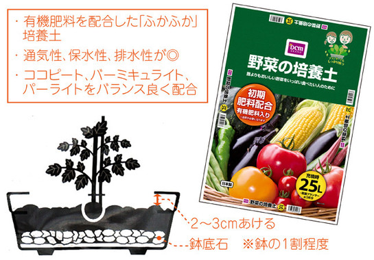 「DCMブランド 野菜の培養土」