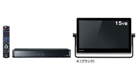 ブルーレイディスクレコーダー兼チューナーとモニターのセット
