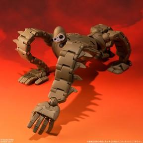 ラピュタの「ロボット兵」フル可動モデル 四つん這いや飛行状態など特徴的なポーズを完全再現